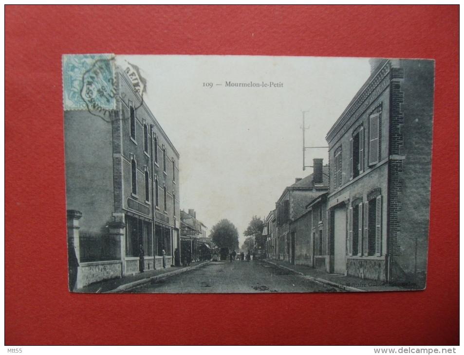 Mourmelon Le Petit Rue Du Village - France