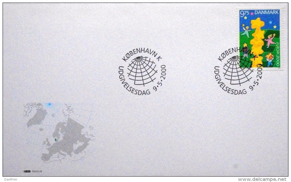 Denmark 2000 EUROPA  MiNr.1238 (O)   FDC  ( Lot  4986 ) - FDC