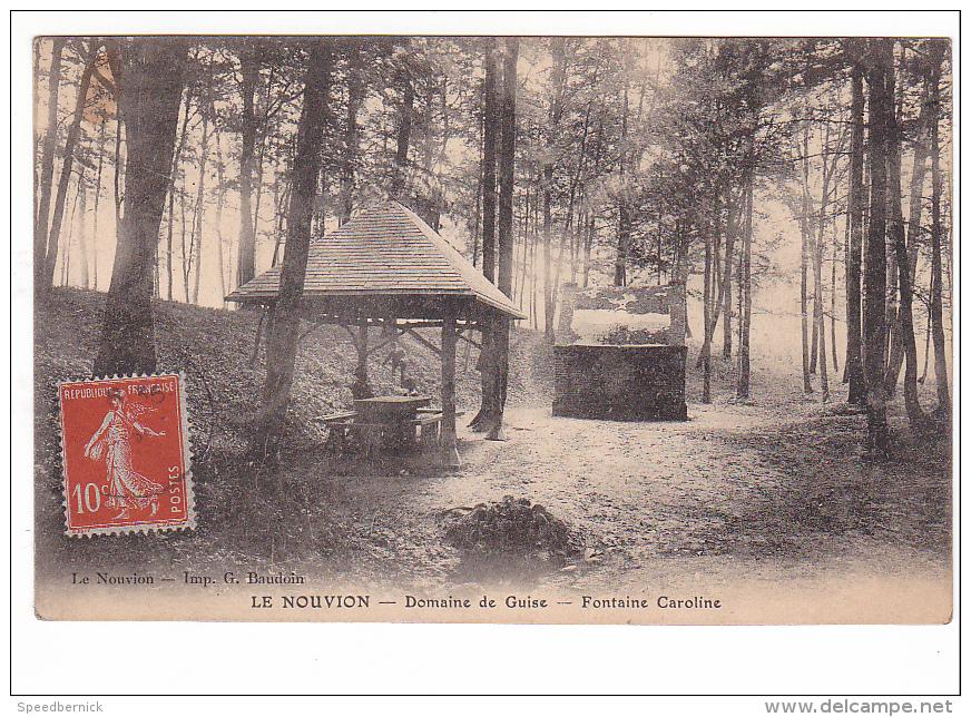 24965 Le Nouvion Domaine De Guise Fontaine Caroline -imp Baudoin - France