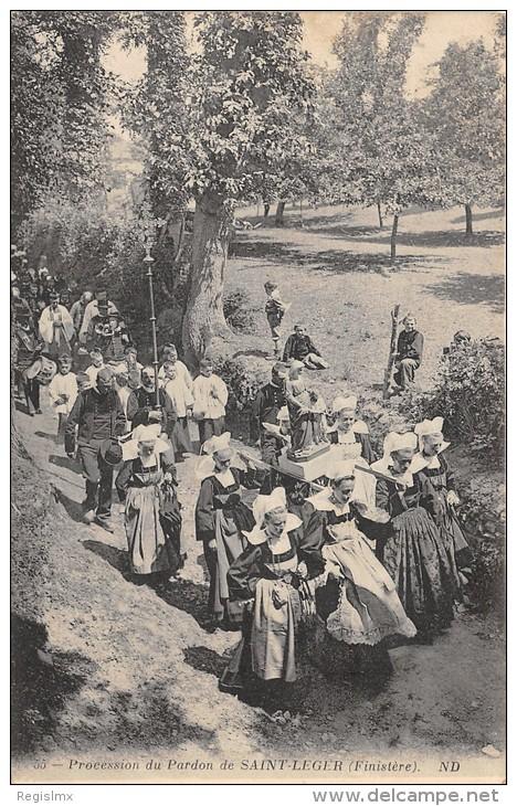 29-PROCESSION DU PARDON DE SAINT LEGER-N°286-G/0039 - Autres Communes