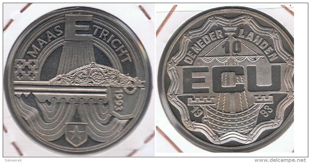 HOLANDA 1993 10 ECU MAASTRICHT R - Paises Bajos
