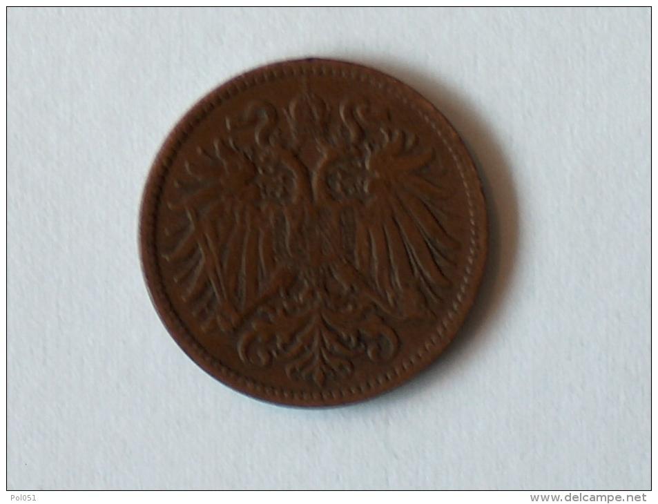 AUTRICHE 2 HELLER 1897 - Autriche