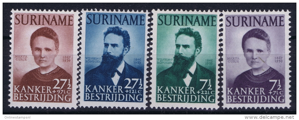 Suriname: NVPH Nr 280 - 283  MH/*, Avec  Charnière , Mit Falz - Suriname ... - 1975