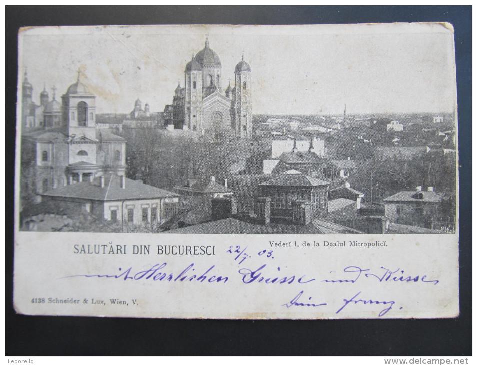AK BUCURESTI Bukarest 1900 //// D*17813 - Rumänien