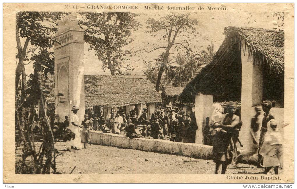 COMORES(MARCHE) - Comoren