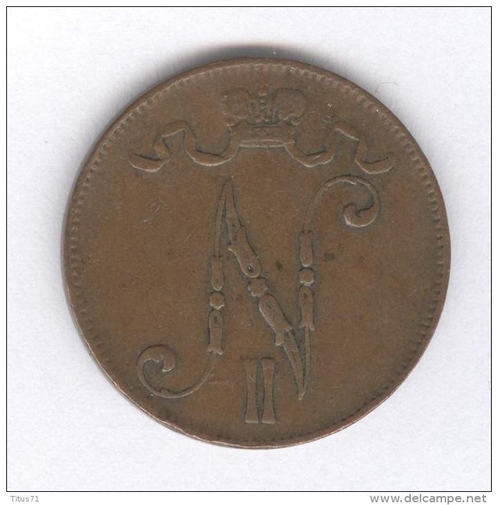5 Pennia Finlande / Finland  1906 - Finlande