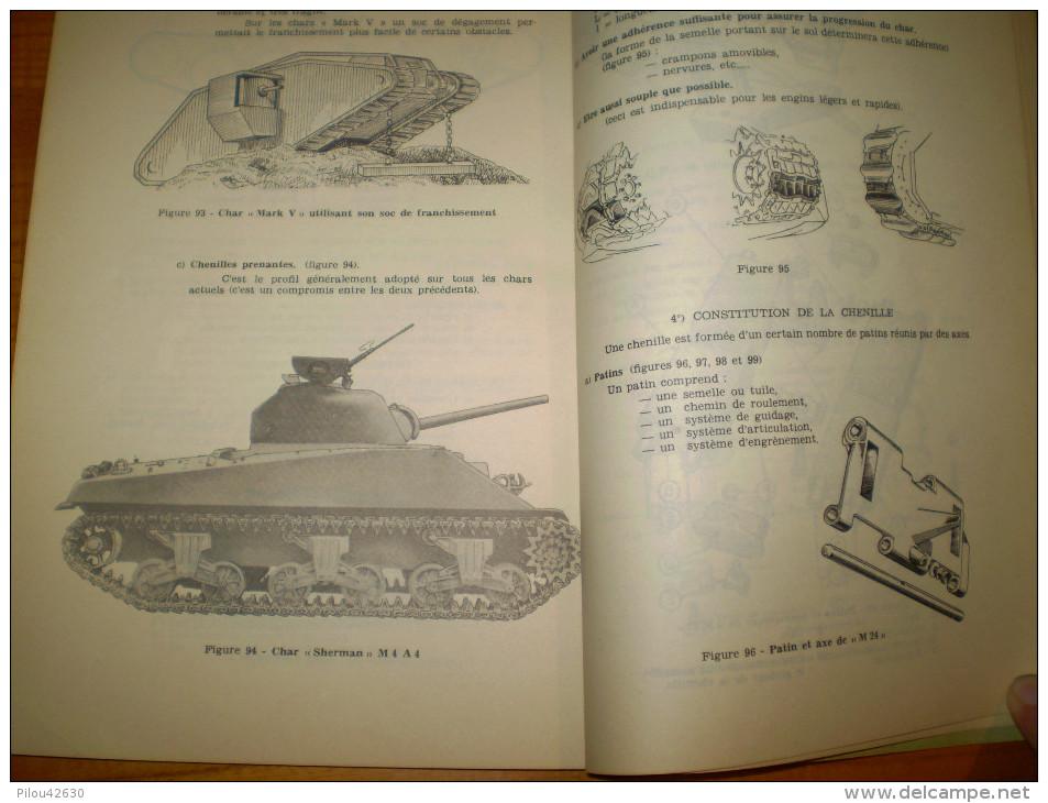 Militaria,Ecole De L´arme Blindée & De La Cavalerie à Saumur: Cours De Technique Automobile. Engins Blindés,char .... - Books