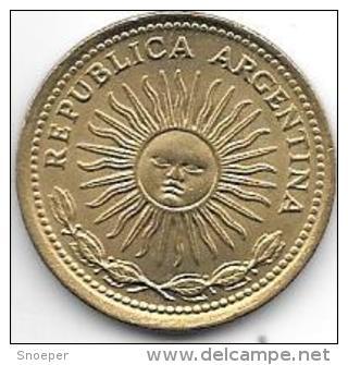 Argentina 10  Pesos 1977  Km 72   Unc - Argentine
