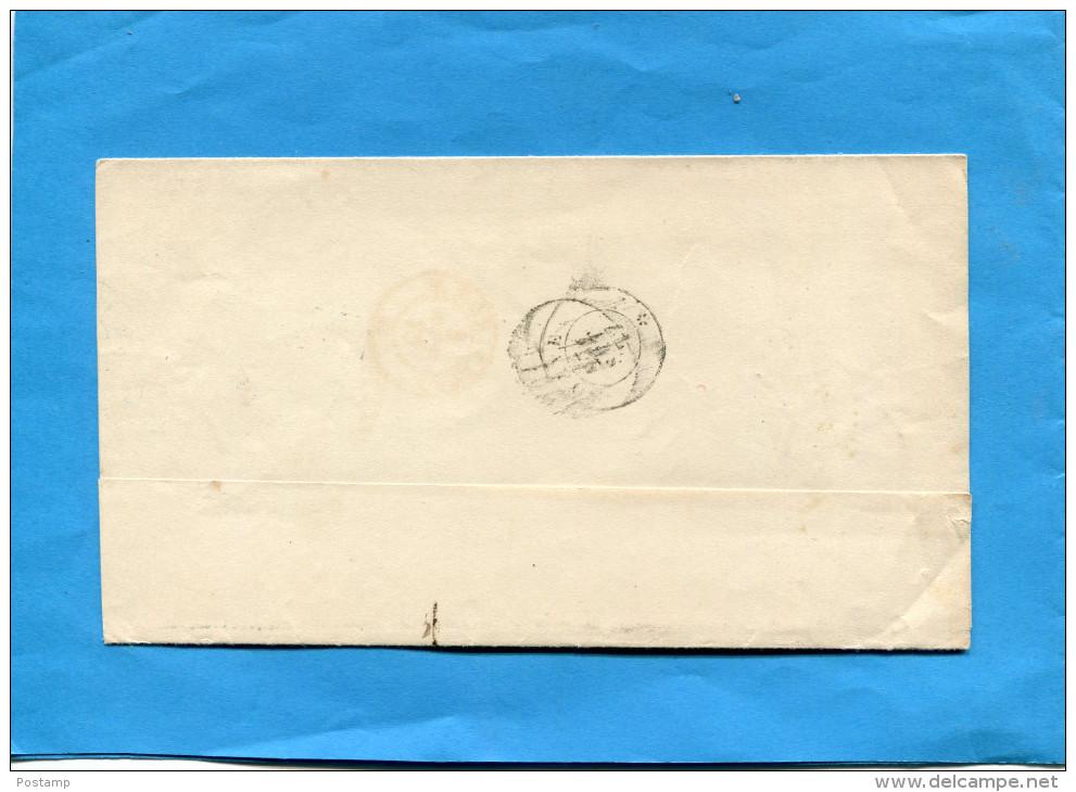 MARCOPHILIE-lettre-cad VERONA  1877-Stamp N° 16 10 C-- - 1861-78 Vittorio Emanuele II