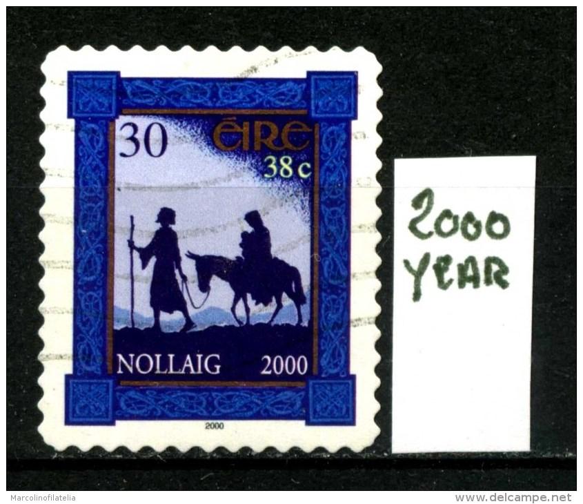 IRLANDA - EIRE - Year 2.000 - Usato - Used . - 1949-... Repubblica D'Irlanda