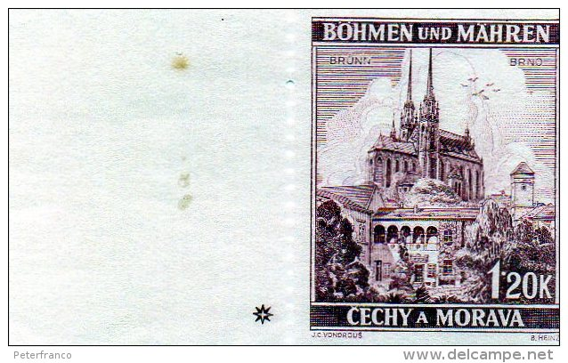 B - 1939/42 Boemia E Moravia - Ordinaria - Bohemia & Moravia