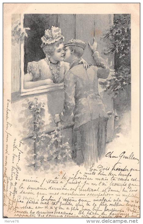 Illustrateur Signé Raphael TUCK - Couples - Amoureux - Tuck, Raphael