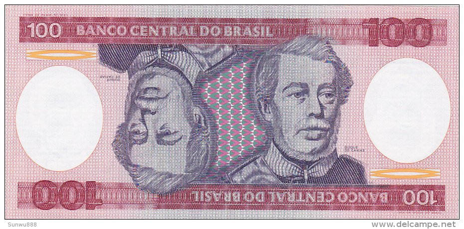 Brasil - 100 Cruzeiros (FDC) - Brésil