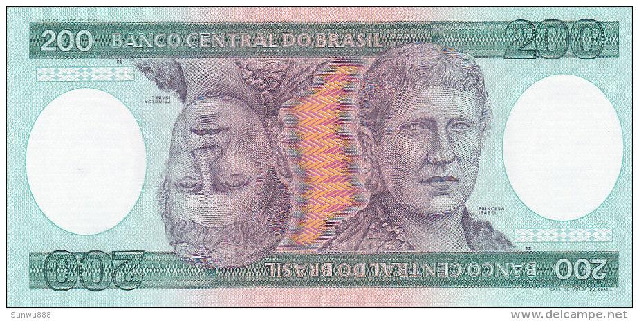Brasil - 200 Cruzeiros (FDC) - Brésil