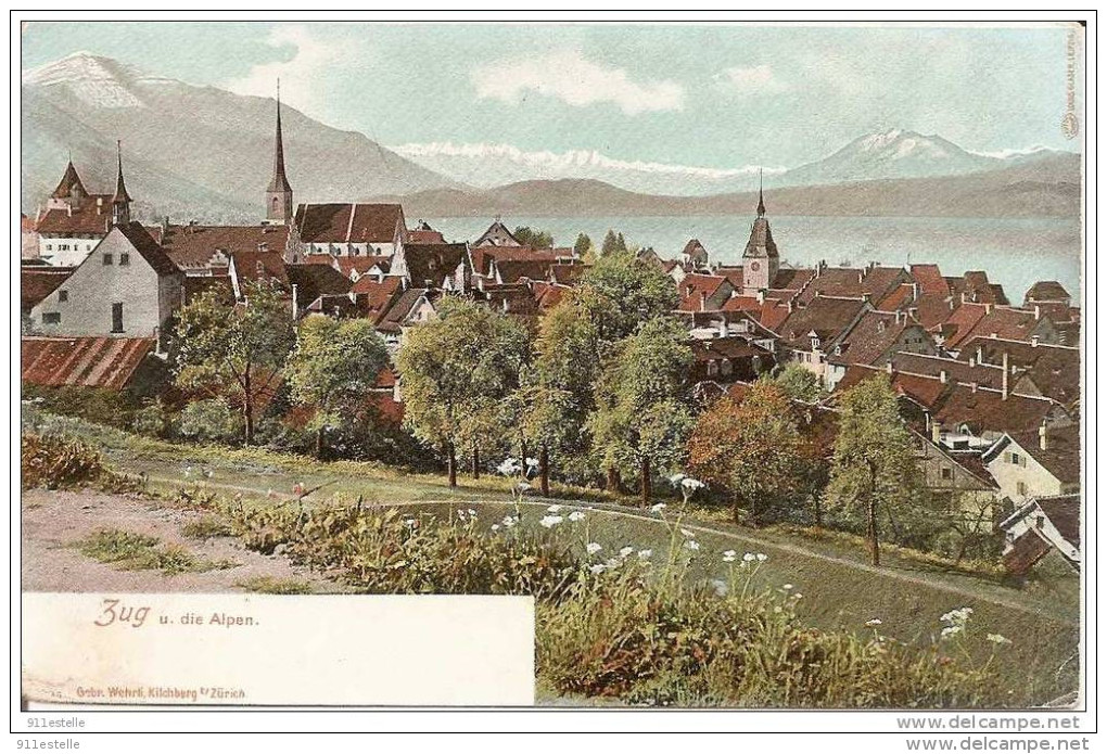 ZUG U Die Alpen - ZG Zoug