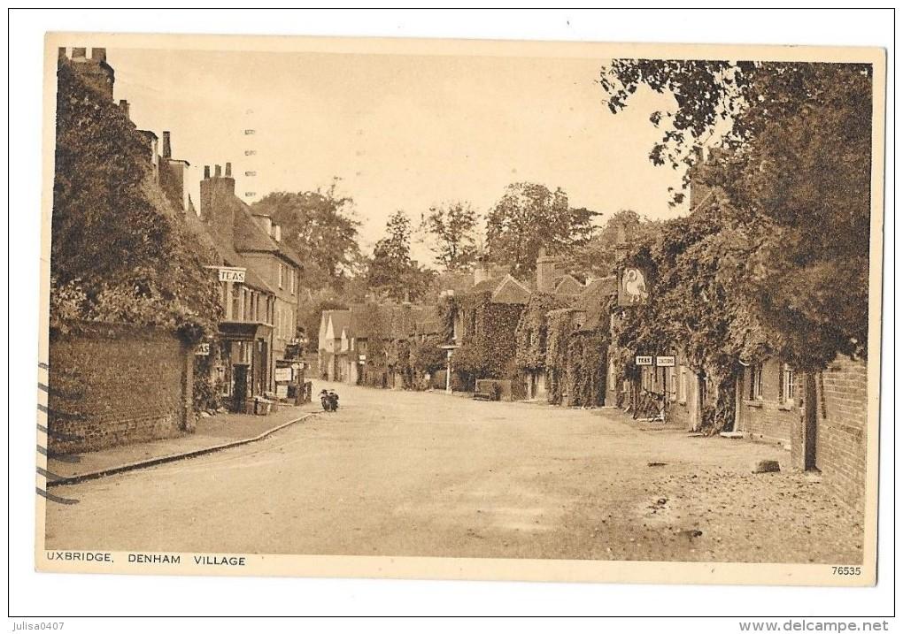 UXBRIDGE (Angleterre) Denham Village - London Suburbs