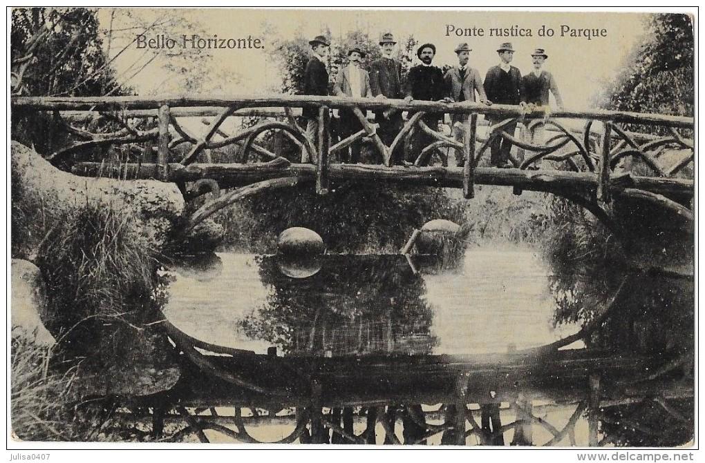 BELLO HORIZONTE (Brésil) Ponte Rustica Do Parque - Belo Horizonte