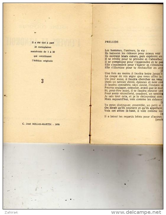 Poésie - Hélène Corvoisier - L'envers Et L'endroit - Poème - Exemplaire N°3 Sur 30 -Les Paragraphes Littéraires De Paris - Livres Dédicacés