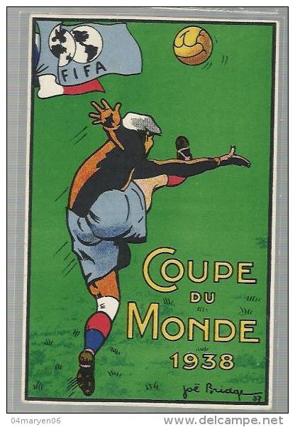"""-*FIFA *  """"""""COUPE   DU  MONDE - 1938  ."""""""" - Fussball"""