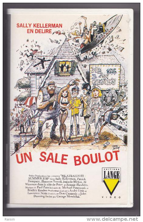 Un Sale Boulot  Sally Kellerman En Délire   Editions Lange Coll. Saphir  BE - Action, Aventure