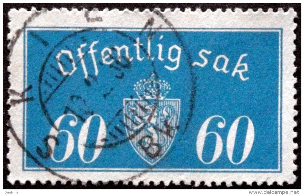 Norway 1933 Minr.19  I  35mm X19,5mm  SKIEN 18-2-1936 ( Lot C 40 ) - Service
