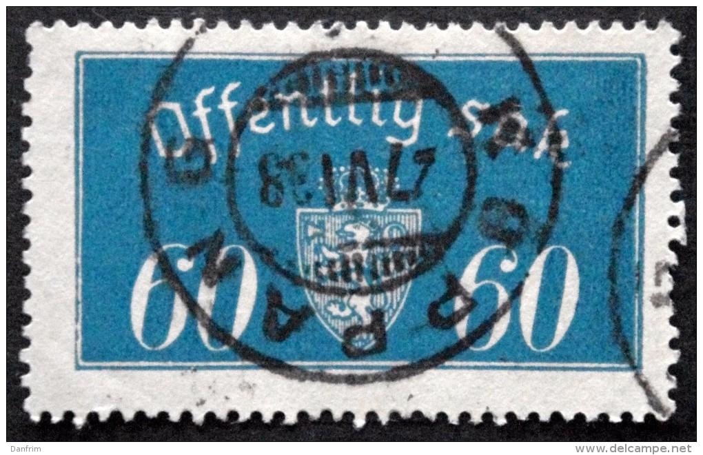 Norway 1935  Minr.19  II   34mm X18,5mm  KOPPANG-27-6-1938  ( Lot C 151 ) - Service