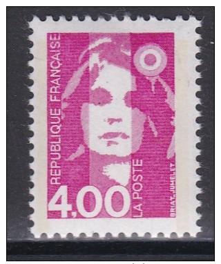 2717Marianne Du Bicentenaire 4f Rose - 1989-96 Marianne Du Bicentenaire