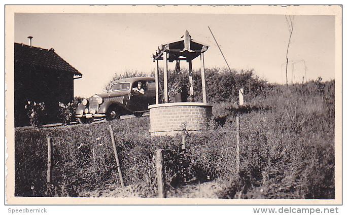 25022 Photographie Originale  Belgique - Vieille Voiture  - Homme - Automobiles
