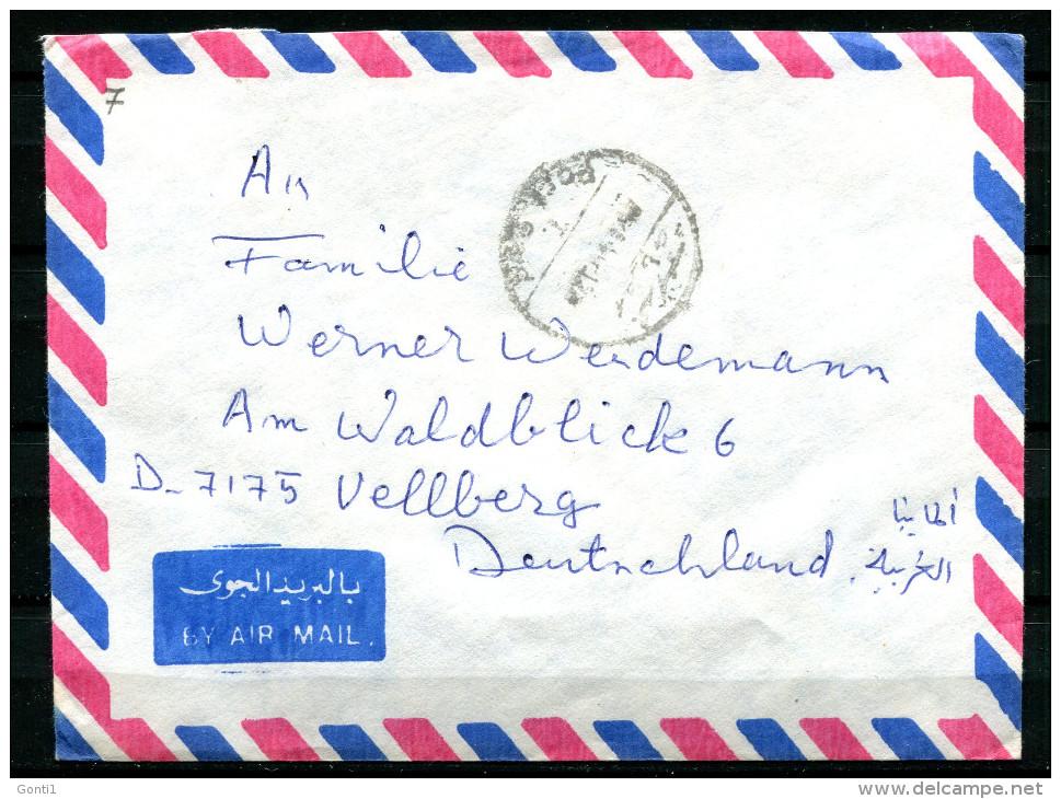 """Ägypten 1989 Bedarfsbrief/Cover Mit Mi.Nr.1131,1133,1147,1150 MiF """"Port-Said-Germany,Allemagne  """" 1 Beleg - Poste Aérienne"""