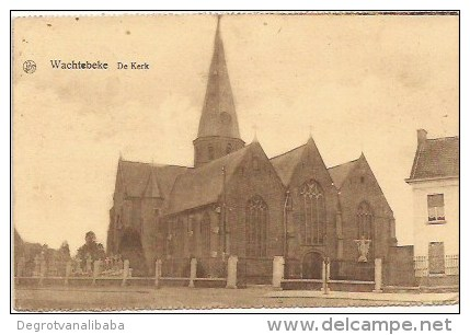 WACHTEBEKE: De Kerk - Wachtebeke