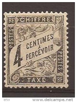 FRANCE - TAXE N° 13 - NEUF MVLH (trace Très Très Propre) - Bon Centrage - 1859-1955 Mint/hinged
