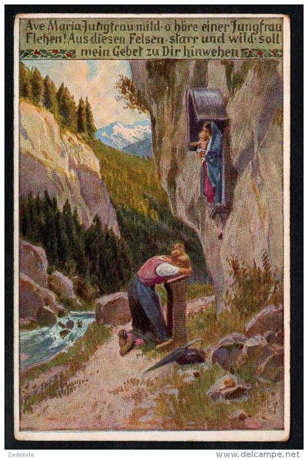 1139 Portofrei - Alte Künstlerkarte Ansichtskarte Paul Hey - Ave Maria Jungfrau Mild Nr. 85 - N. Gel - Hey, Paul