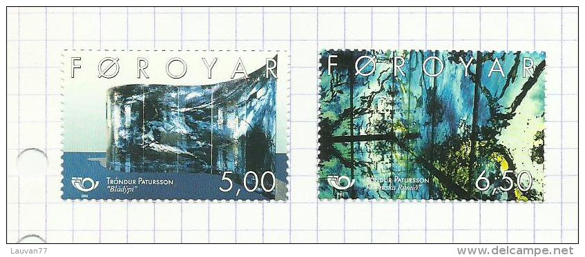 Iles Féroé N°447, 448 Neufs Avec Charnière* - Faroe Islands