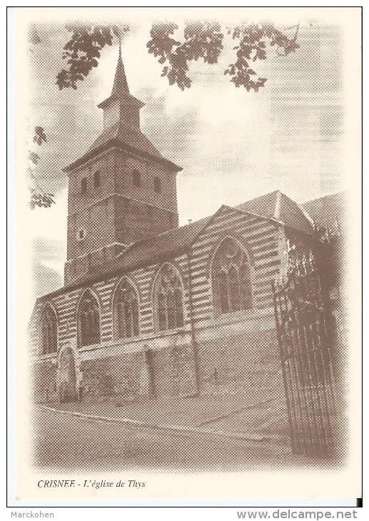 CRISNEE (4367) : L'Eglise De Thys. CPSM. - Crisnée