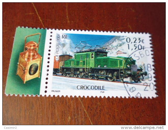 FRANCE TIMBRE OBLITERATION CHOISIE   YVERT N° 3407 - Frankreich