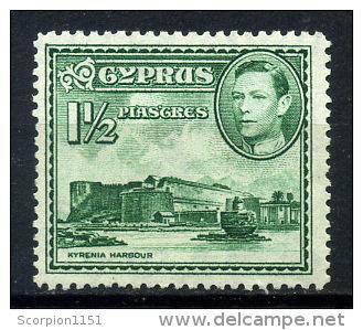 CYPRUS 1938 - From Set 1 1/2 Pi - MNH** - Cyprus (Republic)
