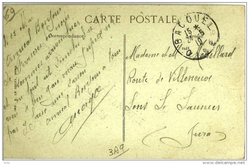 """Ferrières Intérieur De Ferme (2 Scans) Ruines :, Voyagé 1919  """"tout Est Démoli""""- Le Deley - Autres Communes"""