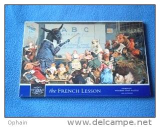 Puzzle En Bois 'La Leçon De Français' - Neuf, Sous Cellophane - 25 Pièces - Ref 7213 - Puzzles