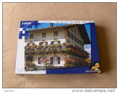 Puzzle Chalet Suisse - Neuf, Sous Cellophane - 1000 Pièces - Dimensions: 48,5 * 67 Cm - Marque: Wild Horse - Puzzles