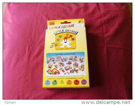 Jeu Little Genus - Neuf - Contient 6 Puzzles Little Genius - 6 Degrés De Difficultés - Pour Enfant De 3 à 7 Ans - Puzzles
