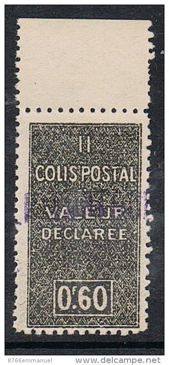 ALGERIE COLIS POSTAL N°55 N**  LUXE - Algérie (1924-1962)