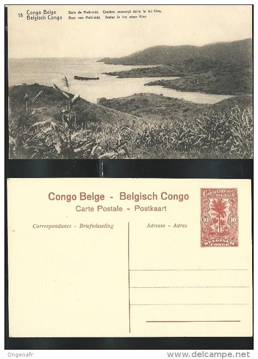 Carte Neuve N° 43; Vue: 18 : Baie De Mobimbi, Cratère Immergé Dans Le Lac Kivu - Ganzsachen