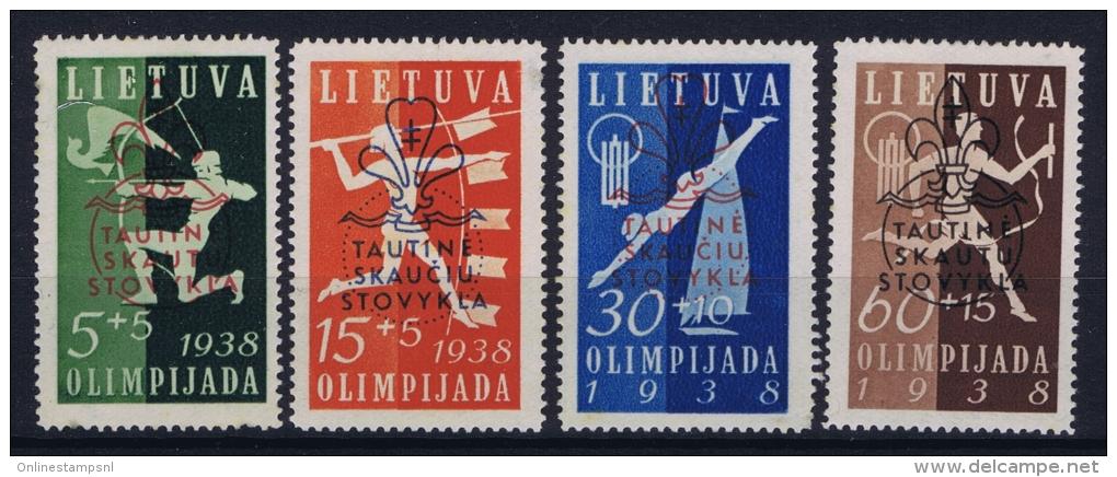 Lithuania Litauen Mi Nr 421 - 424   MH/*, Avec  Charnière , Mit Falz - Litauen