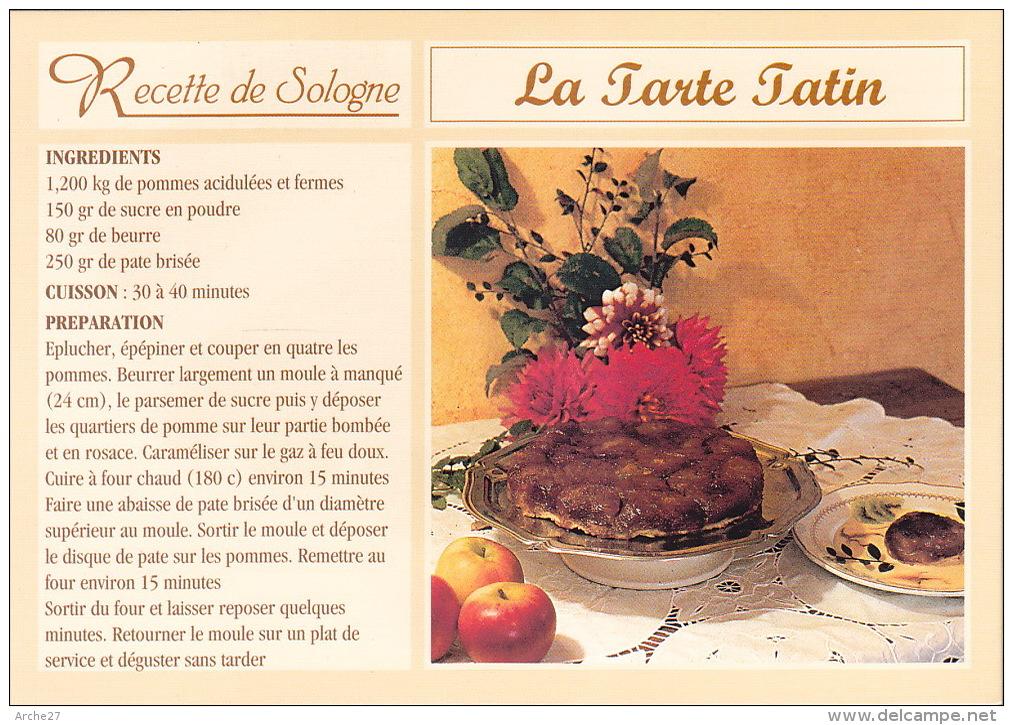 CPSM - Recette - La Tarte Tatin - 41 - Recettes (cuisine)