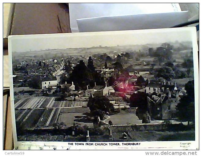 ENGLAND Thornbury The TOWN  Church TOWER Gloucestershire  V1957 FB6514 - Inghilterra