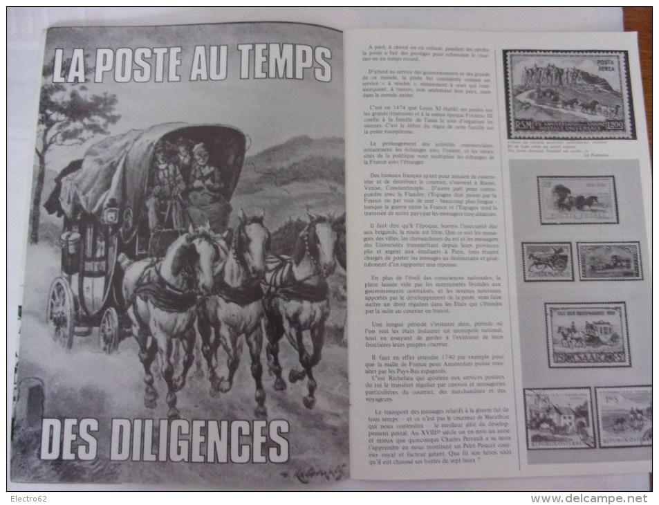 L'univers De La Philatélie N°4, Diligence, C.N.E.P - Français (àpd. 1941)