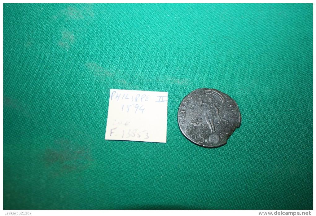 PHILIPPE II - PAYS BAS - ESPAGNE - 1594 - Royaux/De Noblesse