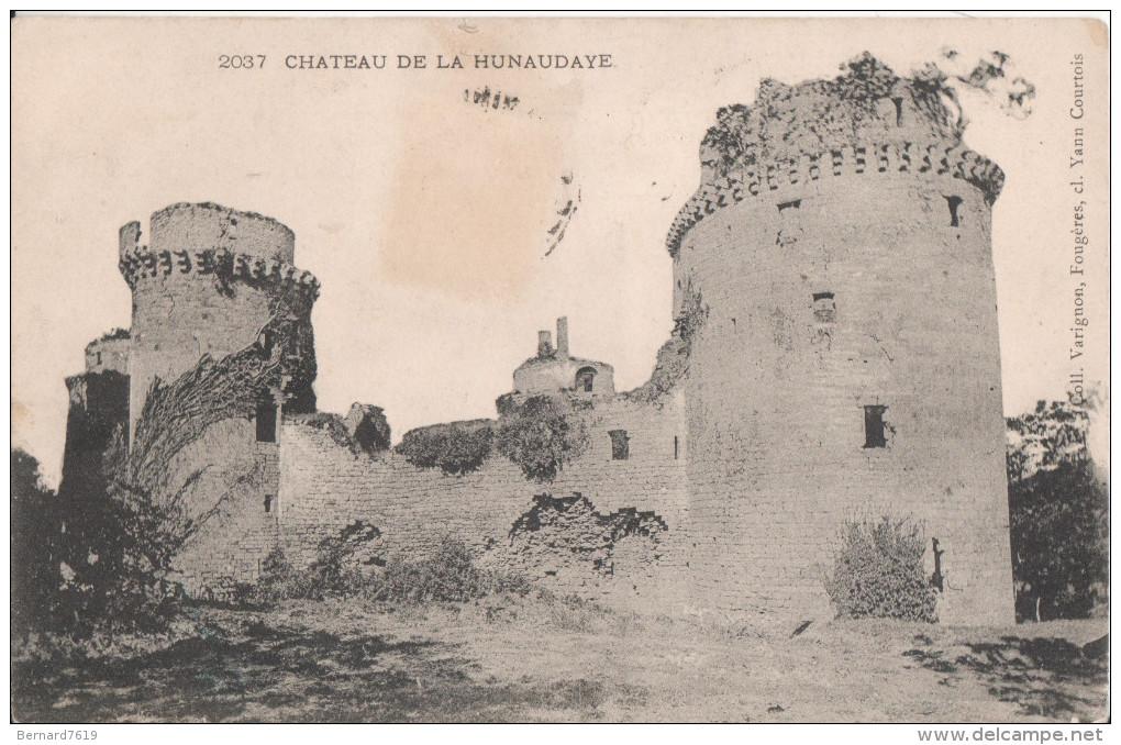 22 Chateau De La Hunaudaye - Autres Communes