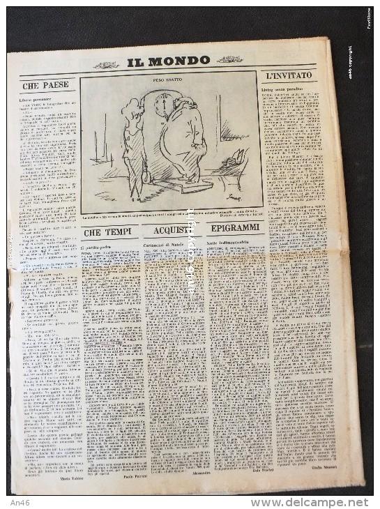 """LOTTO DI N°1 GIORNALE """"IL MONDO"""" SETTIMANALE POLITICO ECONOMICO DEL18 DICEMBRE 1969-32 PAGINE-ORIGINALE AL100%-VEDI SCAN - Libri, Riviste, Fumetti"""