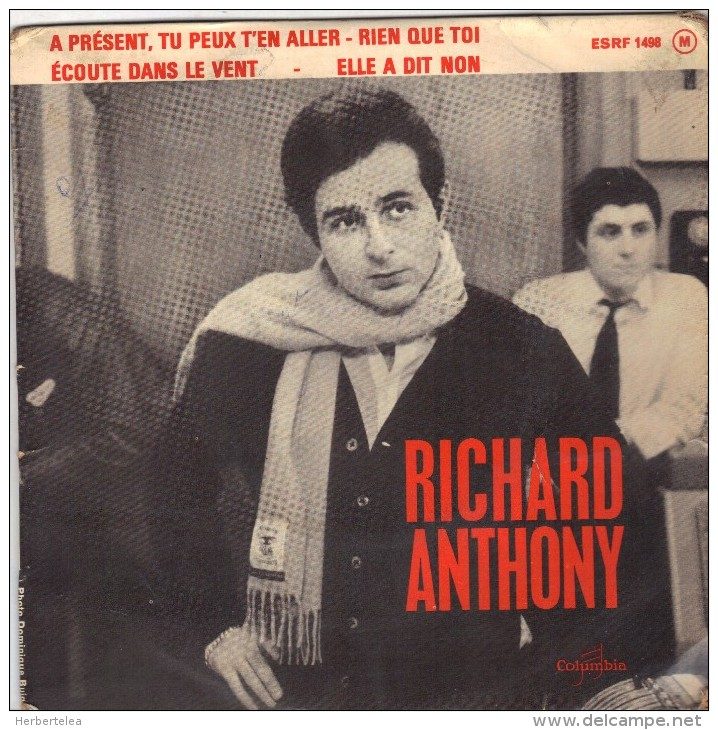 EP RICHARD ANTHONY/////////// - Vinyl Records